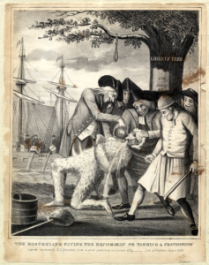 The Bostonians Paying the Excise-Man or Tarring & Feathering