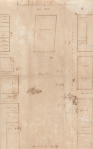 Paul Revere's Plan of the Scene of the Boston Massacre: Used at the Trial of Capt. Preston and SoldiersPaul Revere (1735-1818)