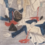 Detail of The Bloody Massacre